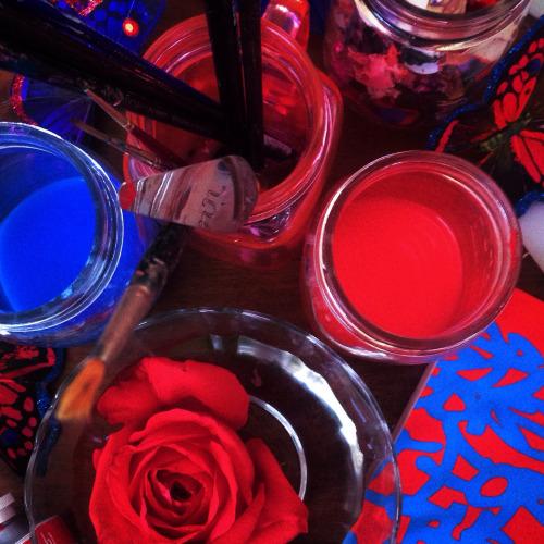 rosso e blu