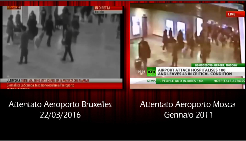 Attentanto Bruxelles - False Flag