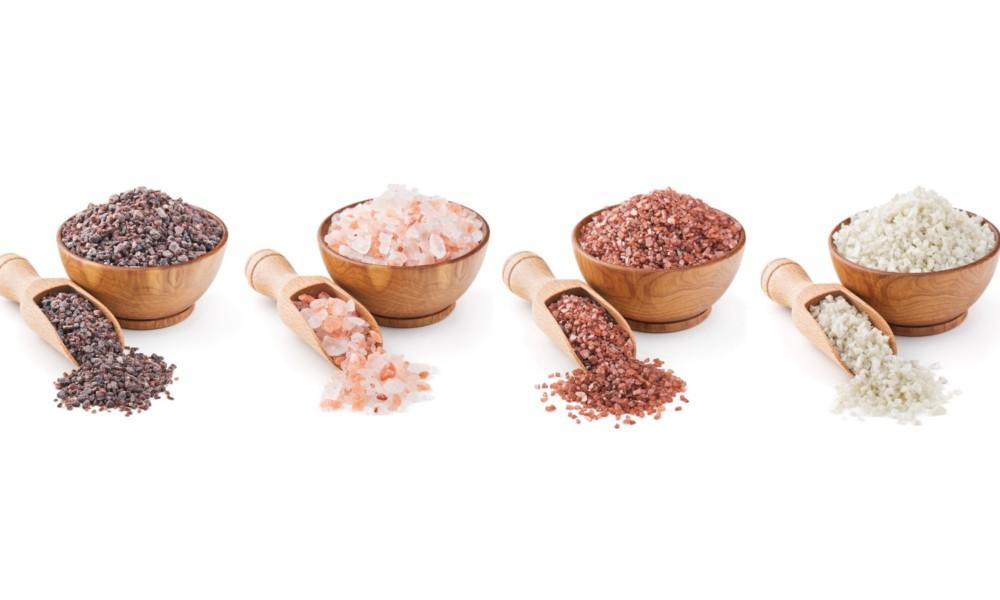 Quattro variet di sale che possono effettivamente - Diversi tipi di trecce ...