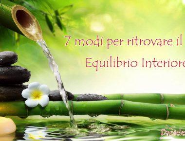 VM11 - EQUILIBRIO INTERIORE